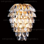 Бра Crystal Lux Charme AP2+2 Led Oro/Crystal